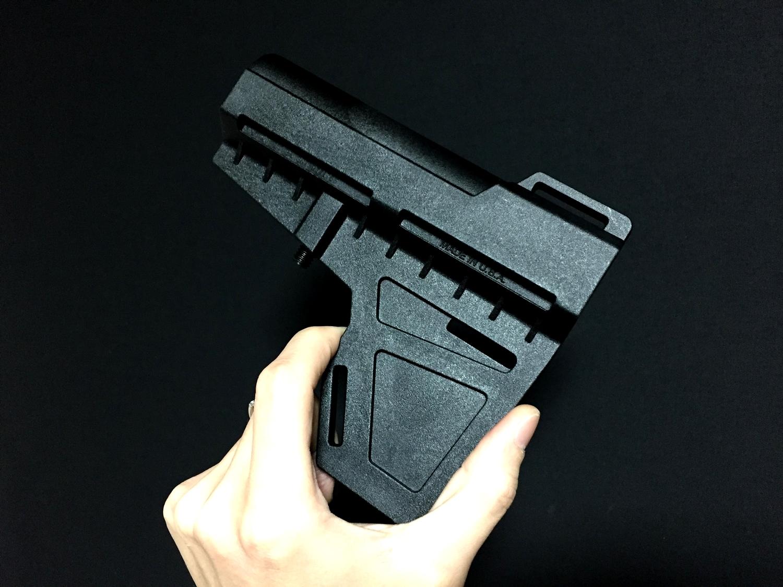 0 実物 KAK Industry LLC Shockwave Blade Pistol Stabilizer ショックウェーブ ブレード ピストル スタビライザー ストック