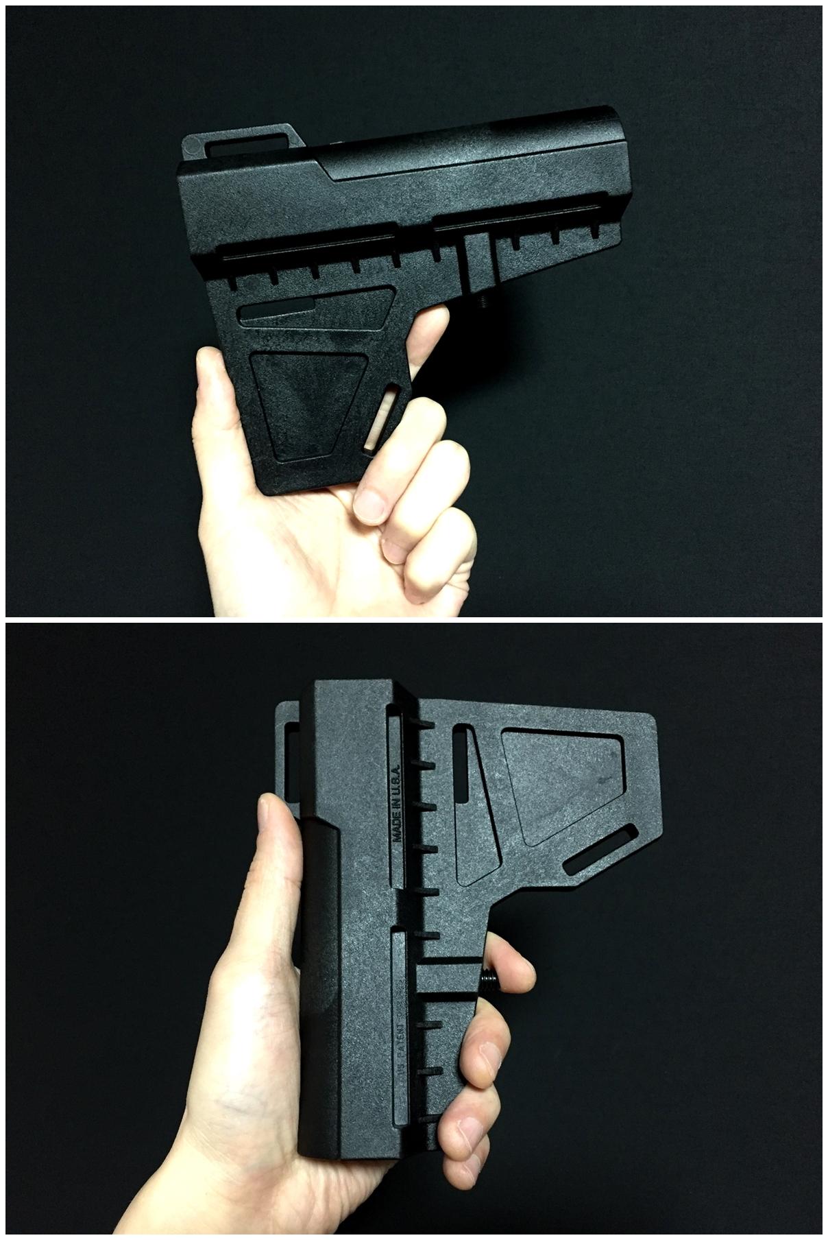 3 実物 KAK Industry LLC Shockwave Blade Pistol Stabilizer ショックウェーブ ブレード ピストル スタビライザー ストック