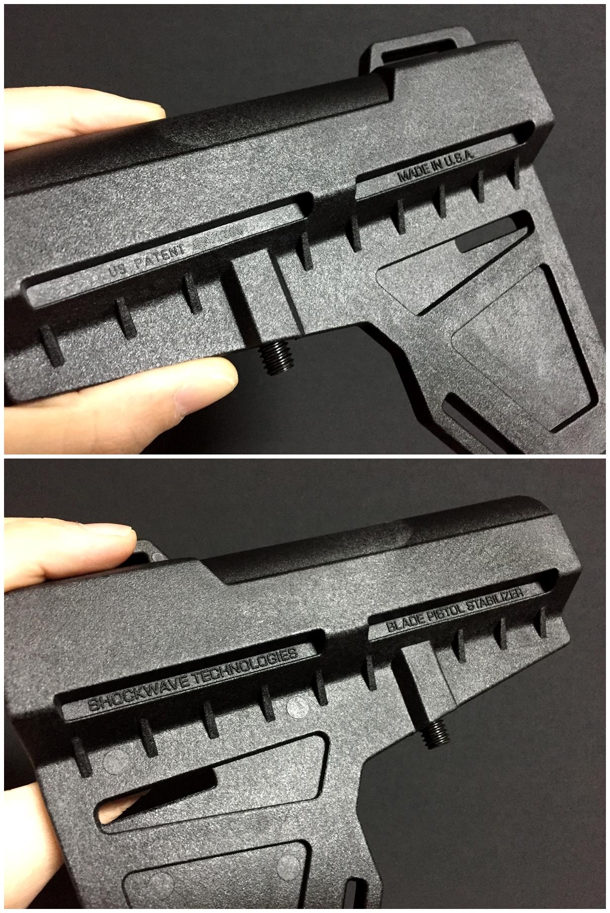 5 実物 KAK Industry LLC Shockwave Blade Pistol Stabilizer ショックウェーブ ブレード ピストル スタビライザー ストック