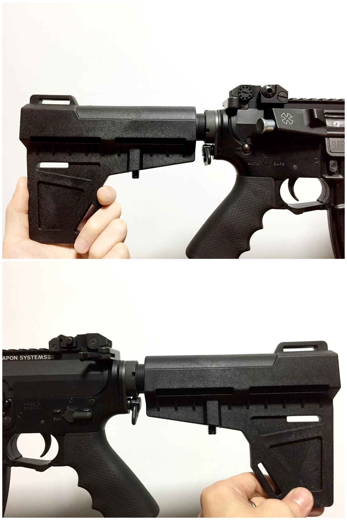 11 実物 KAK Industry LLC Shockwave Blade Pistol Stabilizer ショックウェーブ ブレード ピストル スタビライザー ストック