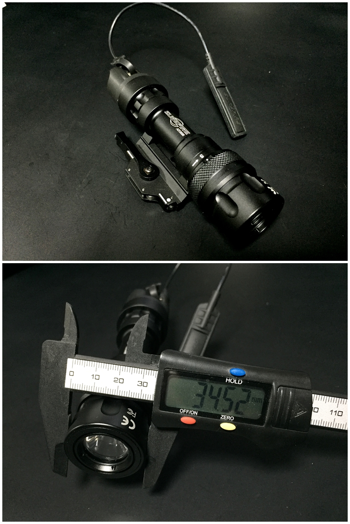 6 ELEMENT フラッシュライト ディフューザー フリップアップ式 カバー 1 47インチ 1 62インチ IRフィルター SUREFIRE タイプ レプリカ フラッシュライト カバー 比較 取付 加工 レビュー