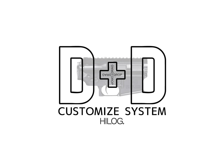 0 HILOG D+D-CUSTOMIZE-SYSTEM エアガン ガスガン 電動ガン 次世代 トレポン 実物 カスタム カスタマイズ システム アイテム リリース