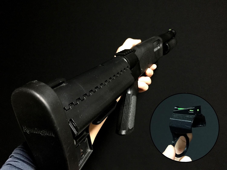 1 MARUZEN CA870 FIBER FRONT SIGHT HILOG ORIGINAL 3D 設計 自作 DIY 取付 カスタム レビュー