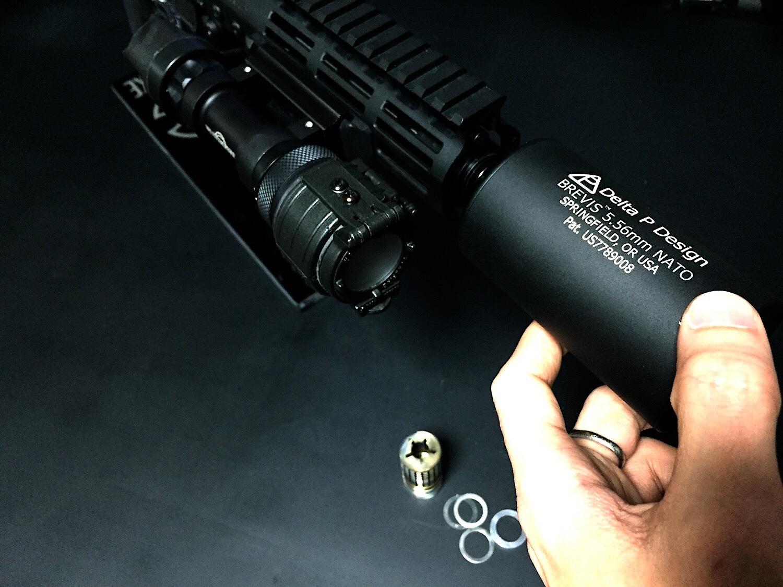11 KAC Knight's Armament style Inconnel Flashider SV ナイツアーマメント タイプ 焼入れ スチール製 フラッシュハイダー 購入 開封 取付 レビュー