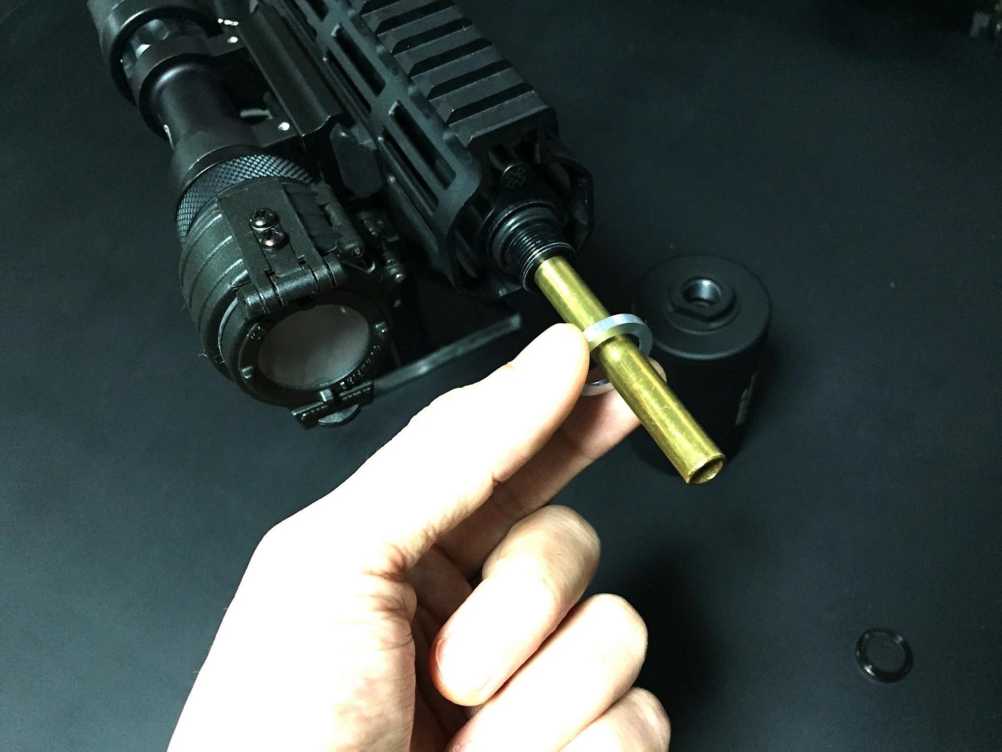 13 KAC Knight's Armament style Inconnel Flashider SV ナイツアーマメント タイプ 焼入れ スチール製 フラッシュハイダー 購入 開封 取付 レビュー