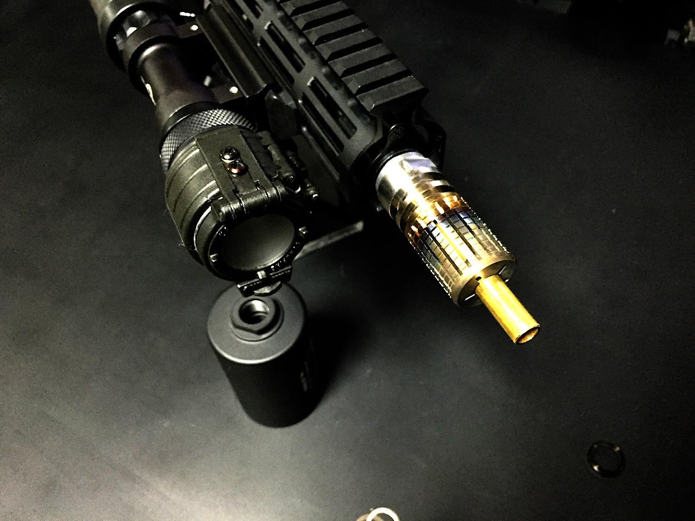 15 KAC Knight's Armament style Inconnel Flashider SV ナイツアーマメント タイプ 焼入れ スチール製 フラッシュハイダー 購入 開封 取付 レビュー