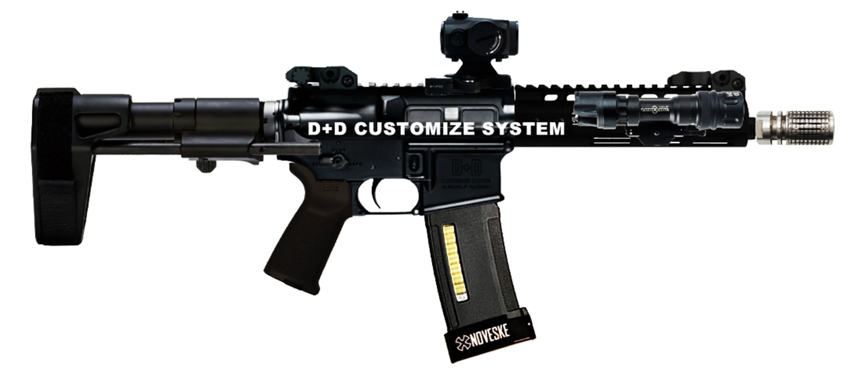 D+D CUSTOMIZE SYSTEM KAC Knight's Armament style Inconnel Flashider SV ナイツアーマメント タイプ 焼入れ スチール製 フラッシュハイダー 購入 開封 取付 レビュー