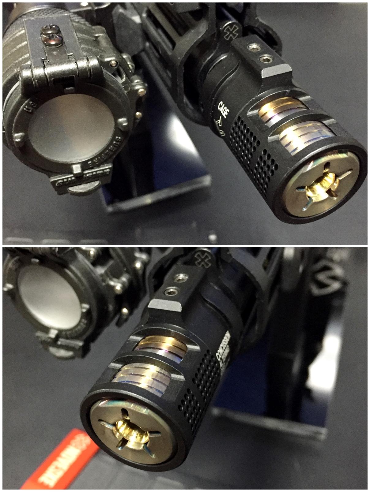 11 VG6 Precision CAGE Device TYPE フラッシュ ハイダー ブラストシールド オプション カバー 購入 開封 比較 実物 レプリカ レビュー