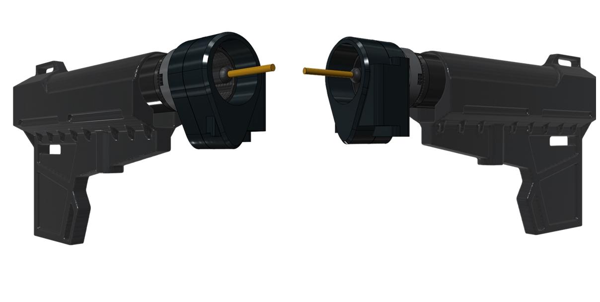 8 次世代 電動ガン ストック 取付 改造 カスタム 大作戦 第ニ弾!! 実物 KAK ショックウェーブ ブレード ピストル スタビライザー & LAWTACTICAL フォールディング ストック アダプター Gen2 TYPE 購入 設計 研究 開