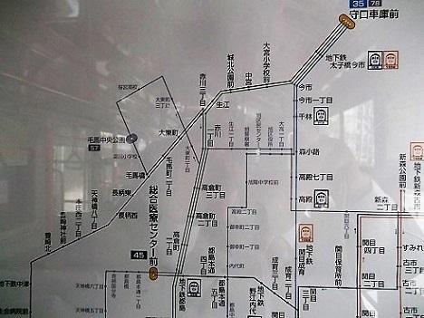 大阪バス路線