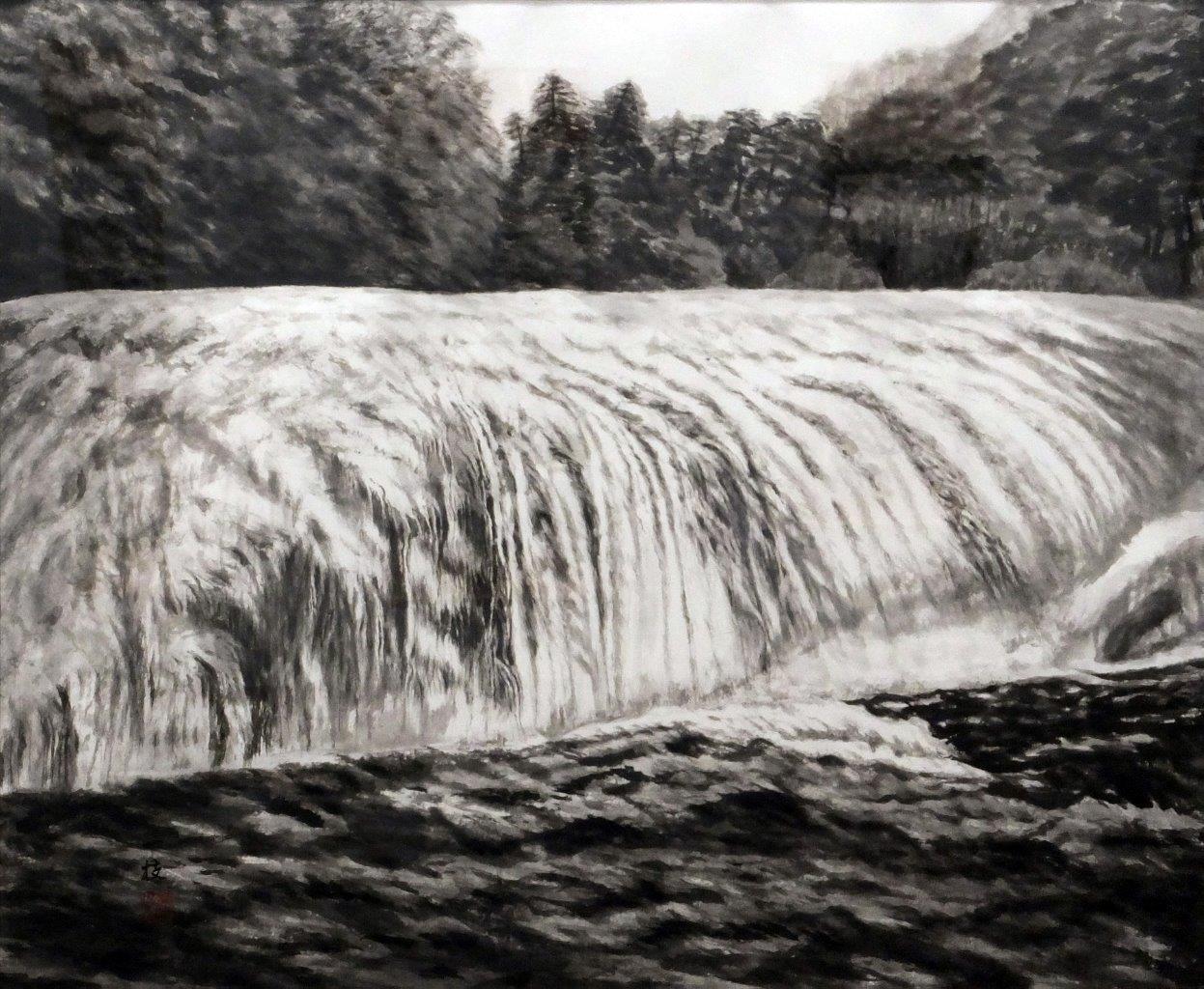 川添一枝 吹割の滝