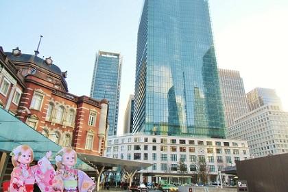 東京駅丸の内南口からすぐのKITTEさん