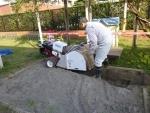 自走砂場清掃篩機、すなっぴー
