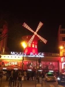 パリ、ムーランルージュ