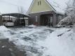 駐車場エリアの除雪