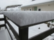 積雪に厚さ