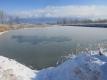 ため池の氷