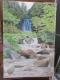 唐沢の滝の絵