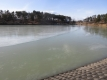 明神池の氷