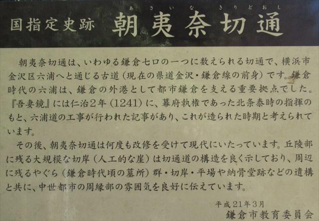 朝夷奈切通9