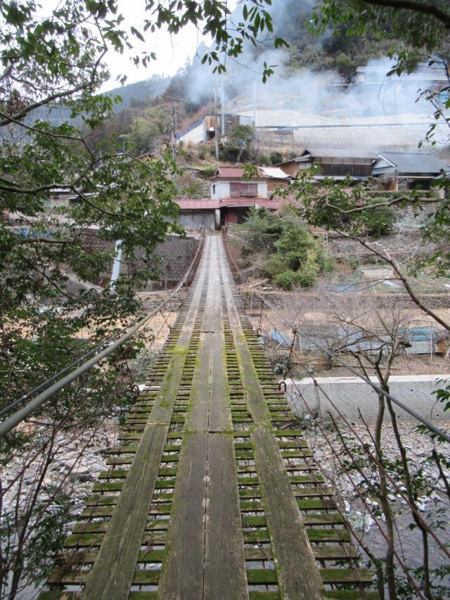 日浦谷の吊橋4