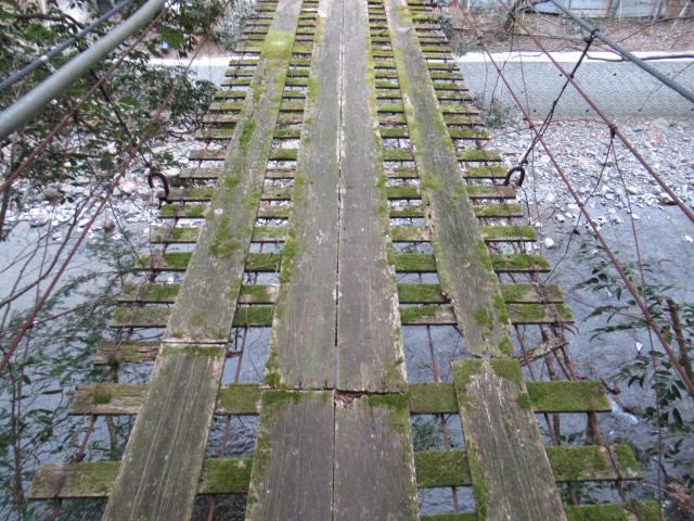 日浦谷の吊橋9