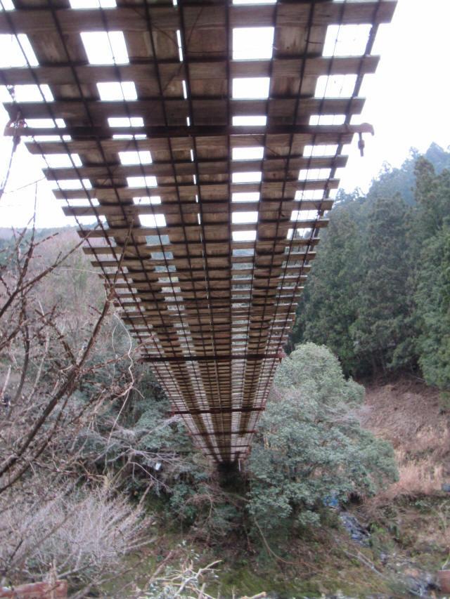 日浦谷の吊橋d