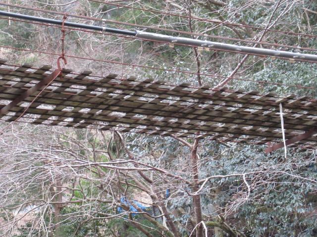 日浦谷の吊橋e