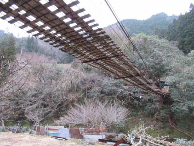 日浦谷の吊橋c