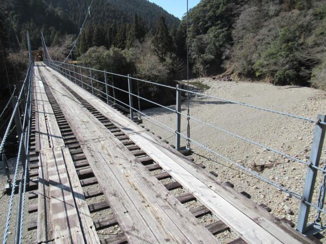 今西の吊橋5