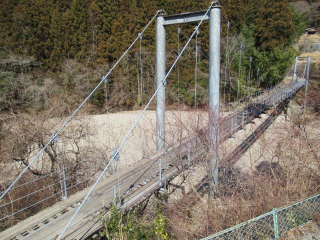 今西の吊橋6