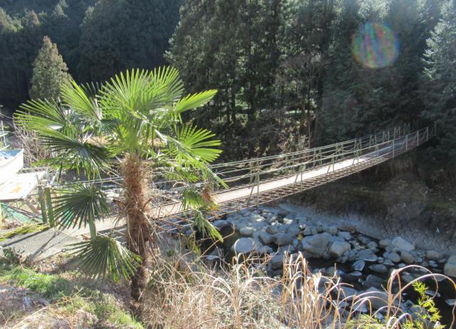 板井沢の吊橋1