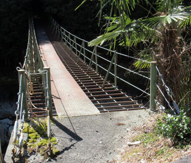 板井沢の吊橋7