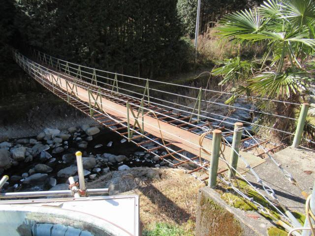 板井沢の吊橋2
