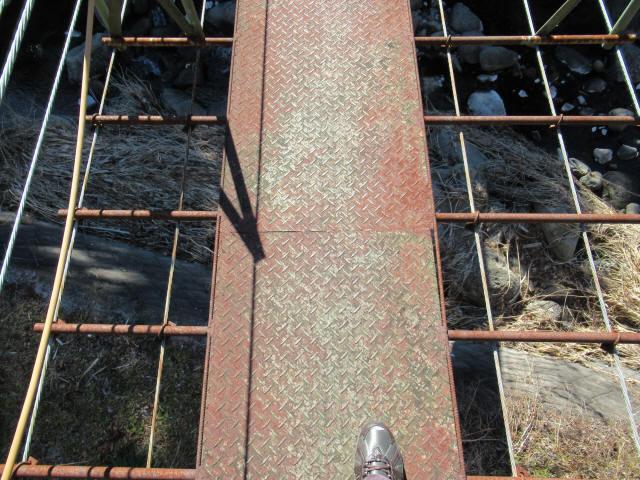 板井沢の吊橋0