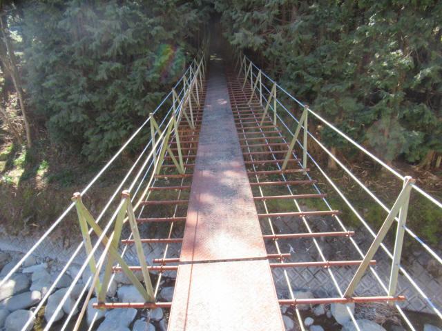 板井沢の吊橋8