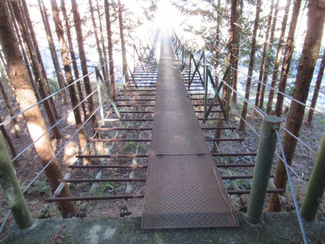 板井沢の吊橋5