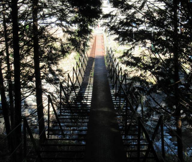 板井沢の吊橋4