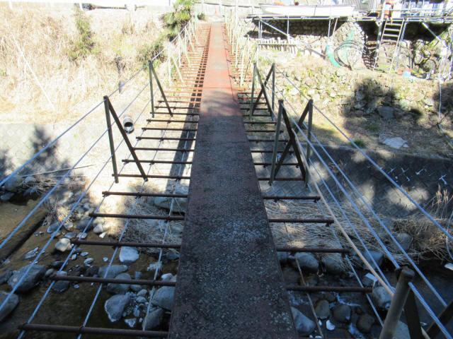 板井沢の吊橋6