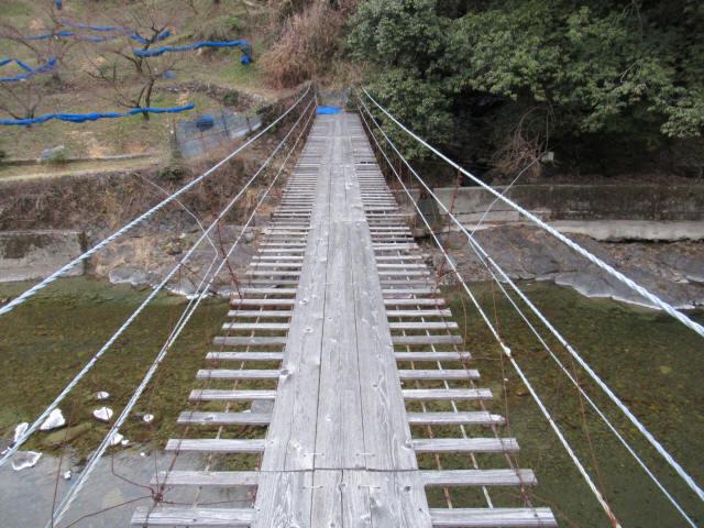 上板の吊橋d