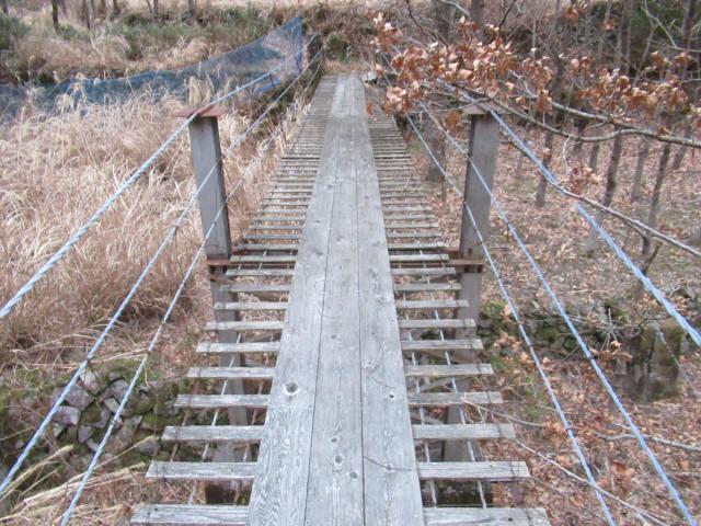 上板の吊橋9