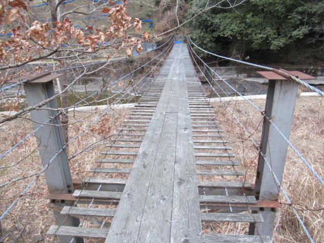 上板の吊橋8