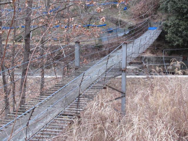 上板の吊橋7