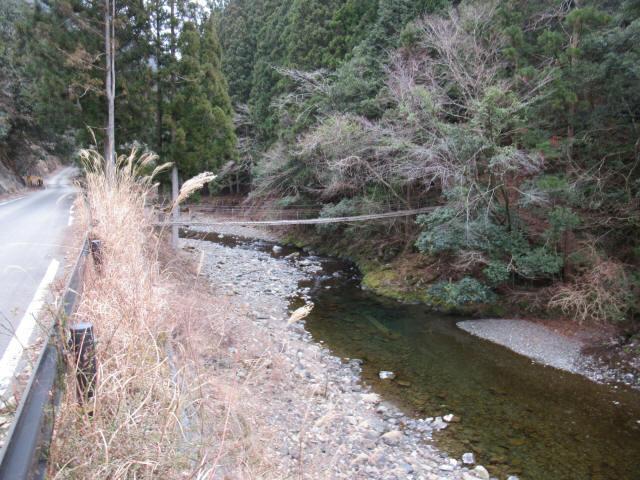 上小藪川の吊橋2-6