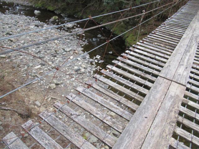 上小藪川の吊橋2-0