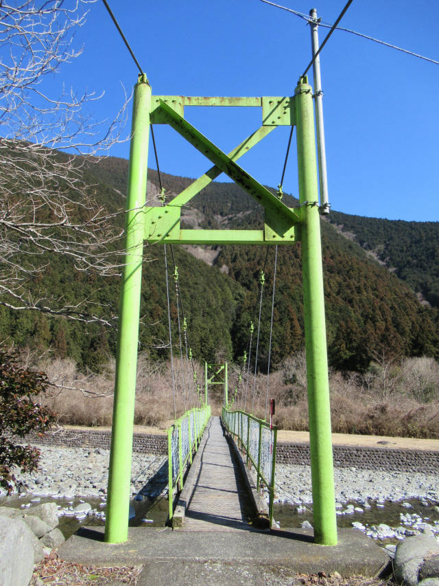 上佐野の吊橋7