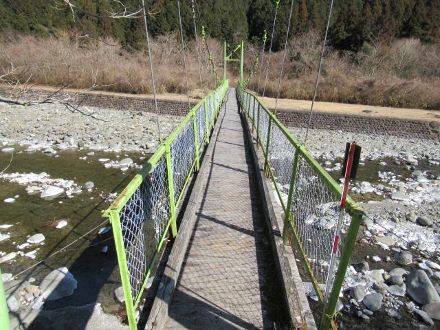 上佐野の吊橋8
