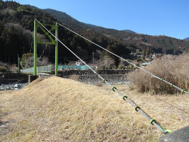 上佐野の吊橋2