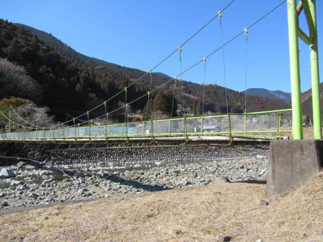 上佐野の吊橋3