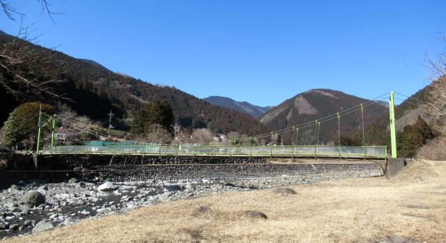 上佐野の吊橋1